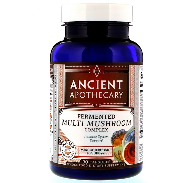 Ancient Apothecary, Fermented Multi Mushroom Complex, 90 Capsules