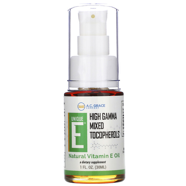 Unique E, Natural Vitamin E Oil, 1 fl oz