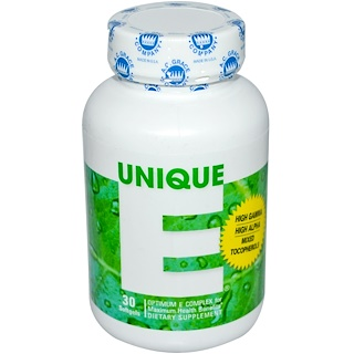 A.C. Grace Company, Unique E, 30 Softgels