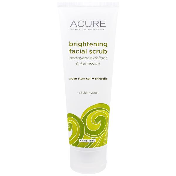 Acure Organics, Brightening Facial Scrub, 4 fl oz (118 ml)