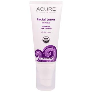 Acure Organics, Facial Toner, Balancing Rose + Red Tea, 3 fl oz (88.7 ml)