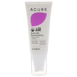 Acure Organics, Radically Rejuvenating, Facial Toner, 3 fl oz (88.7 ml)