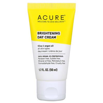 Acure Brilliantly Brightening, дневной крем, 1,7 ж. унц. (50 мл)