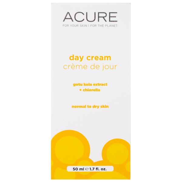 Acure Organics, Day Cream, Gotu Kola Stem Cell + Chlorella, 1.75 fl oz (50 ml)