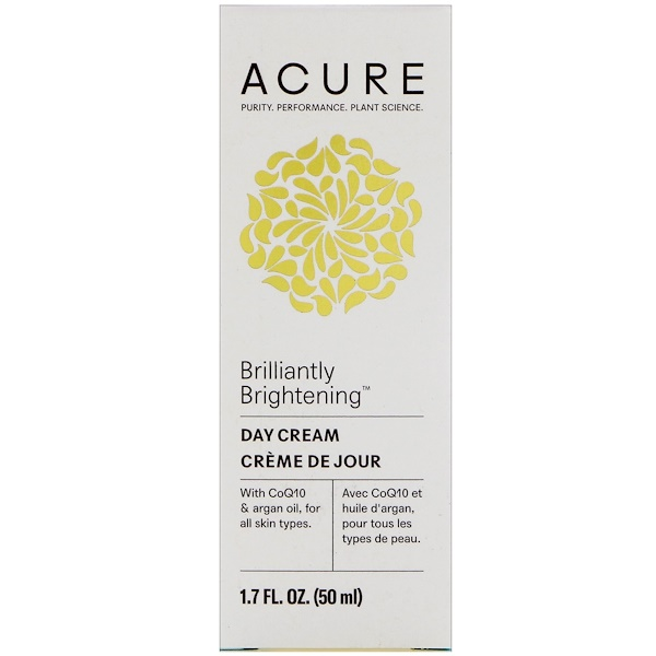 Acure Organics, Brilliantly Brightening, Day Cream , 1.7 fl oz (50 ml)