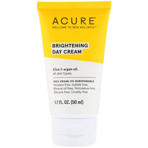 Brightening Day Cream, All Skin Types, 1.7 fl oz (50 ml)