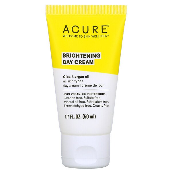 Acure, Brightening Day Cream, 1.7 fl oz (50 ml)