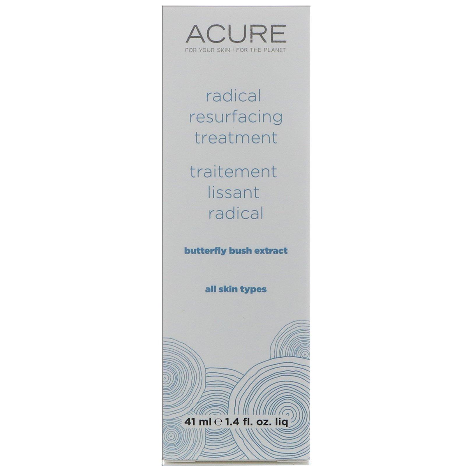 Acure Organics, Средство для радикального омоложения, экстракт летней сирени, 1,4 ж. унц.(41 мл)