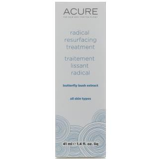 Acure Organics, Radical Resurfacing Treatment, Butterfly Bush Extract, 1.4 fl oz (41 ml)