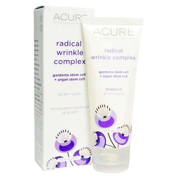 Acure Organics, Radical Wrinkle Complex, All Skin Types, 1.4 fl oz (41 ml) (Discontinued Item)