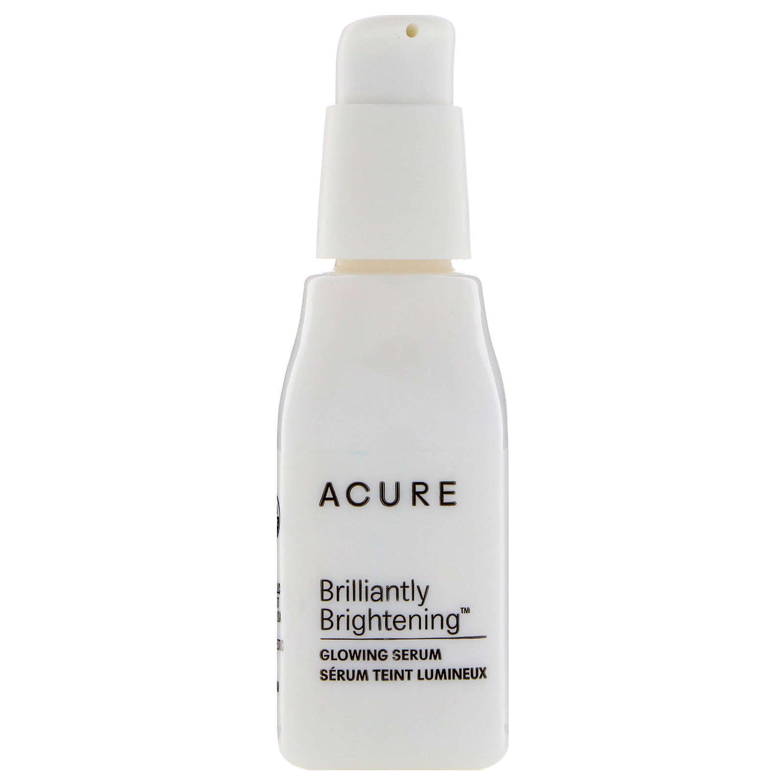 Acure, Brilliantly Brightening, Glowing Serum, 1 Fl Oz (30