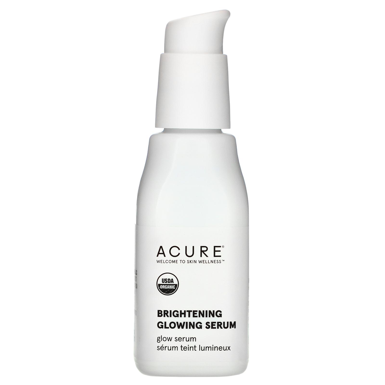 Acure Organics Brilliantly Brightening Glowing Serum 1 Fl