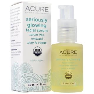 Acure Organics, Seriously Glowing Facial Serum, 1 fl oz (30 ml)