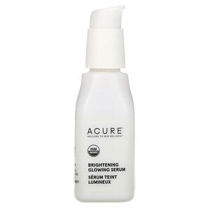 Акьюр Органикс, Brilliantly Brightening, Glowing Serum, 1 fl oz (30 ml) отзывы покупателей
