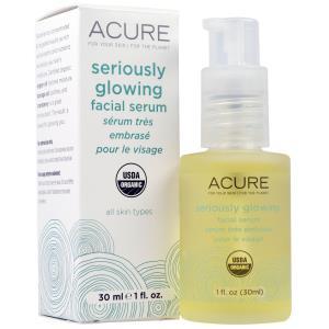 Acure Organics, Brilliantly Brightening, Glowing Serum, 1 fl oz (30 ml) купить на iHerb