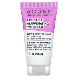 Акьюр Органикс, Radically Rejuvenating Eye Cream, 1 fl oz (30 ml) отзывы покупателей