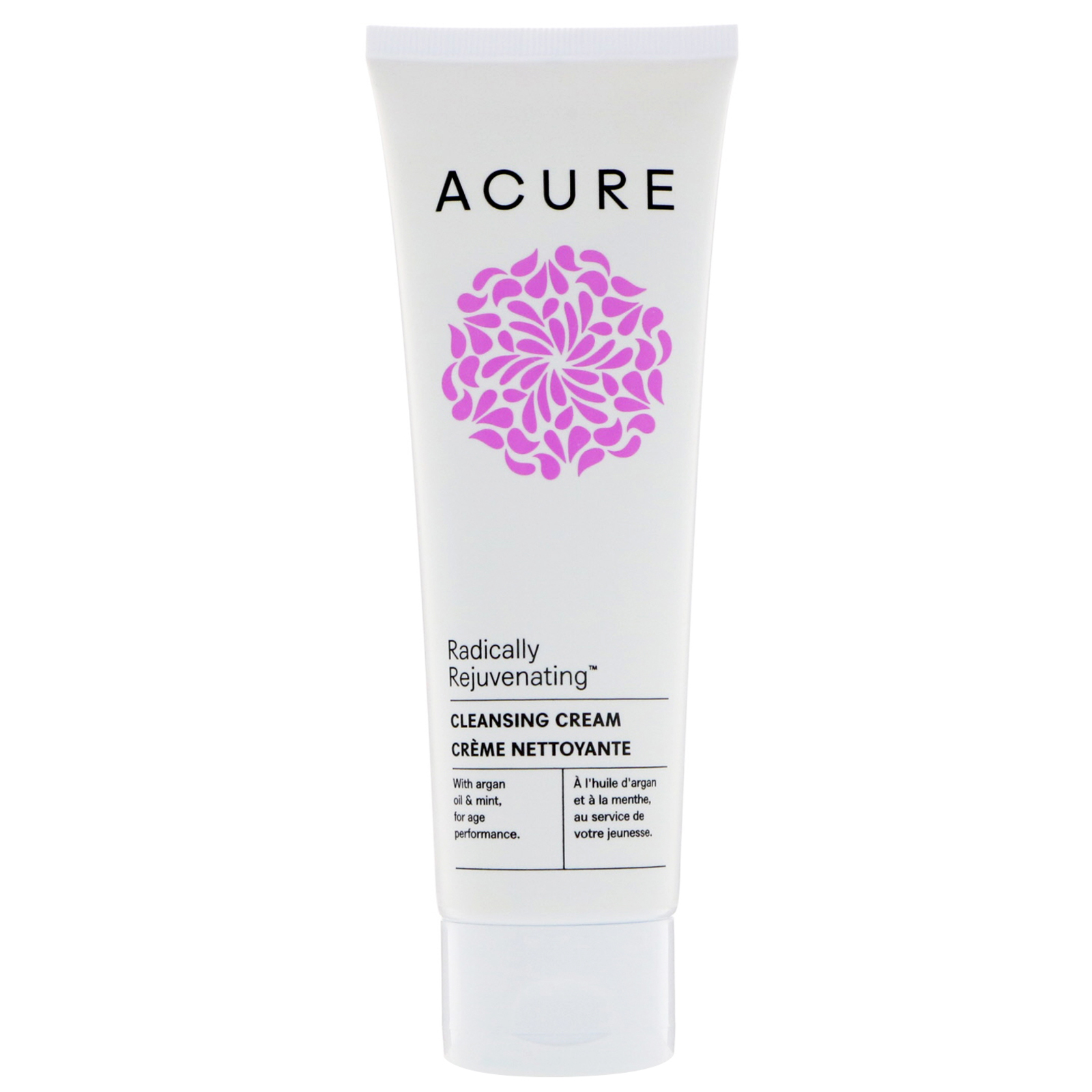 Acure, Radically Rejuvenating, Cleansing Cream, 4 Fl Oz