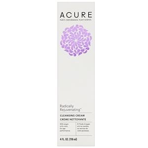 Acure Organics, Radically Rejuvenating, Cleansing Cream, 4 fl oz (118 ml)