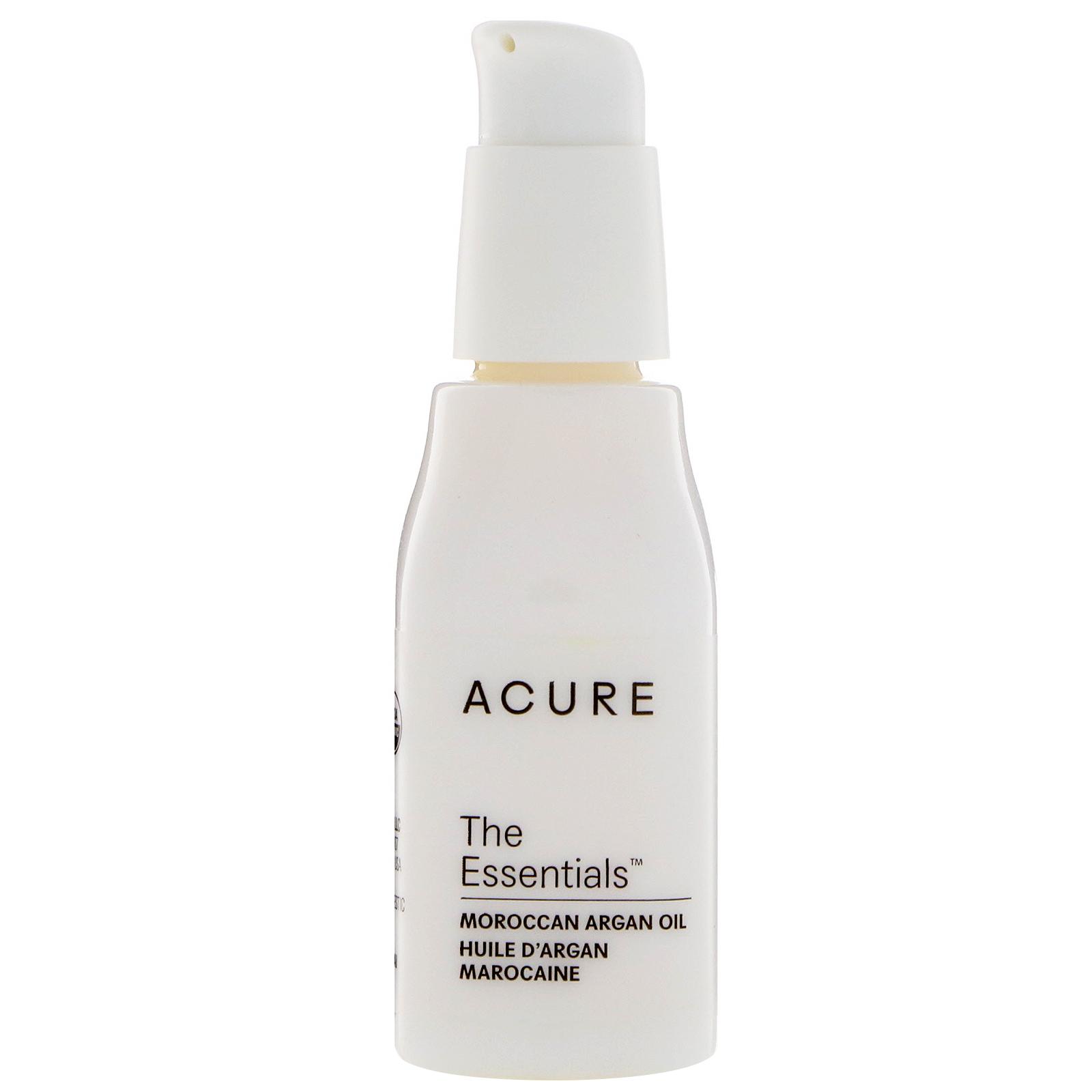 Acure Organics, The Essentials, Moroccan Argan Oil, 1 Fl