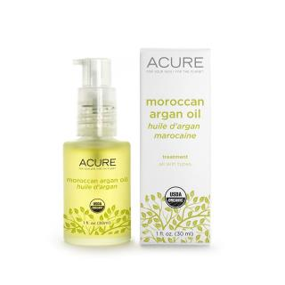 Acure Organics, Moroccan Argan Oil, Treatment, All Skin Types, 1 fl oz (30 ml)
