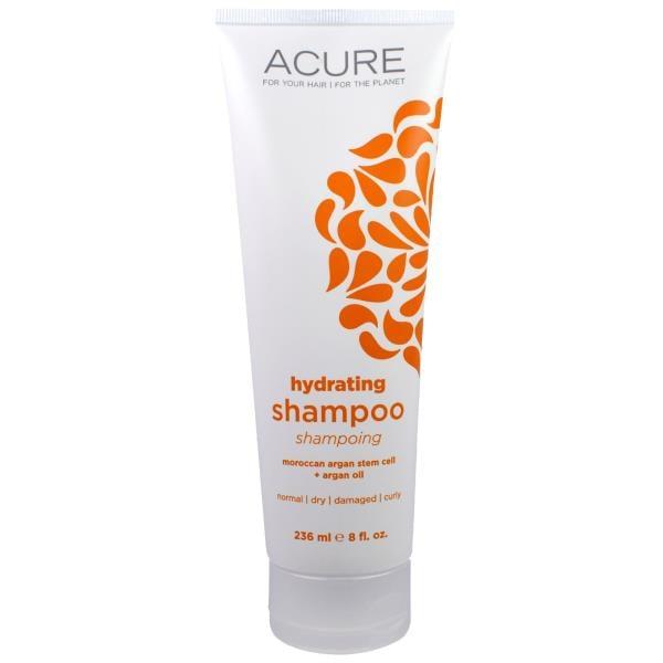 Acure Organics, 保湿シャンプー、モロッコ産アルガン幹細胞 + アルガンオイル、8 液量オンス (236 ml)