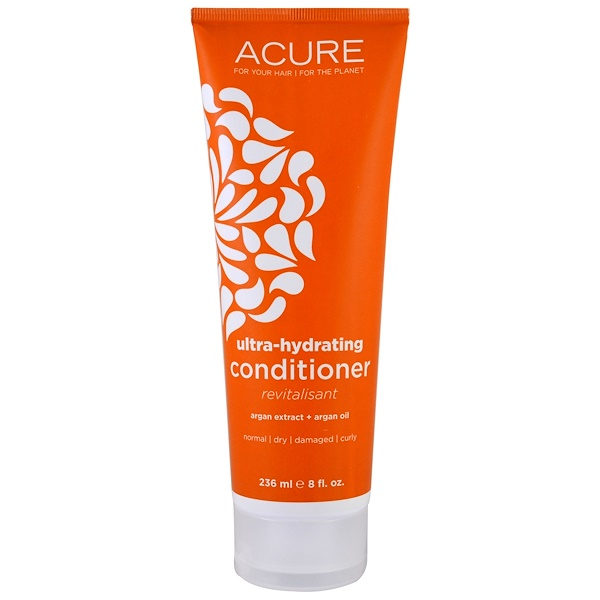 Acure, Ultra-Hydrating Conditioner, Argan Extract + Argan