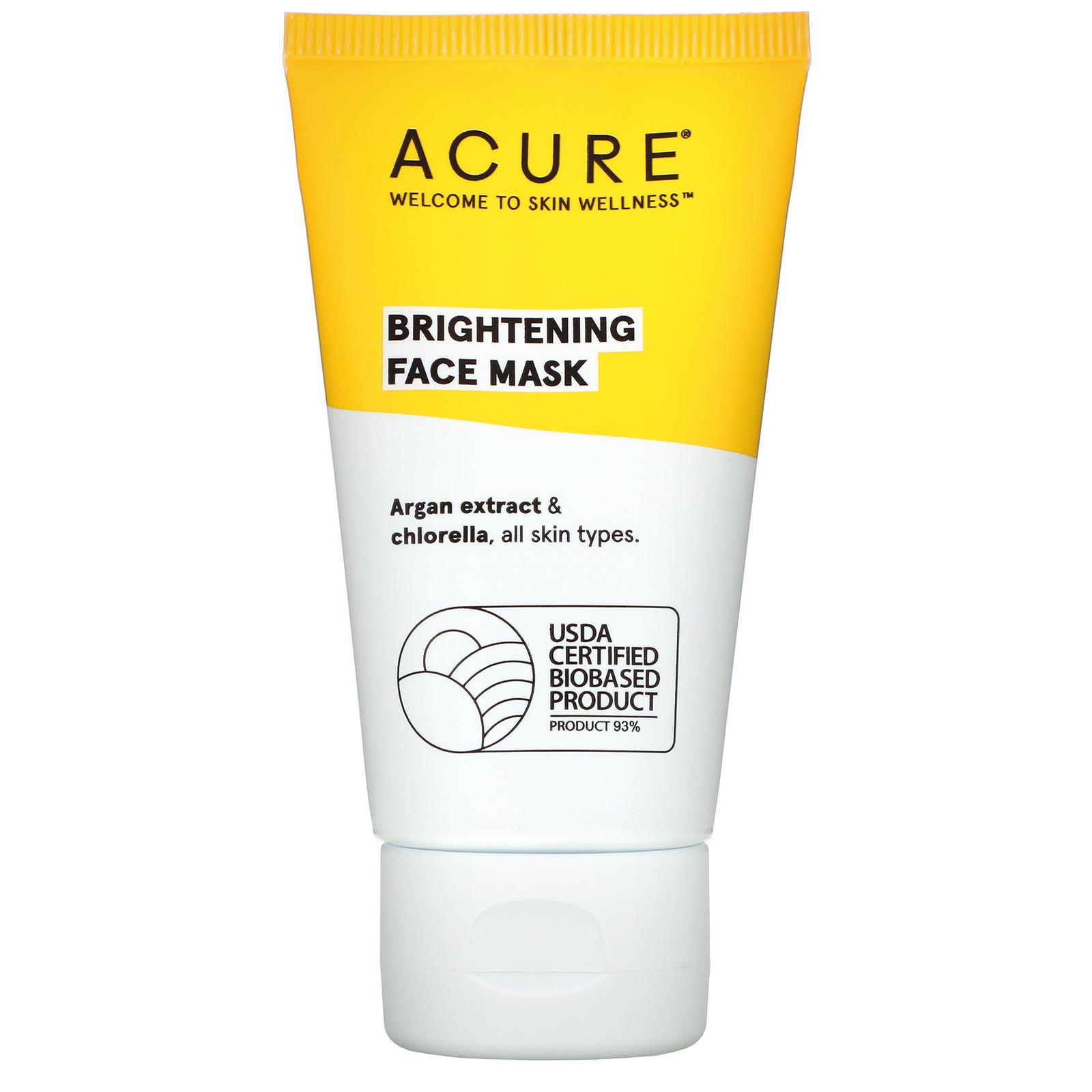 Acure Organics Brilliantly Brightening Face Mask 1 7 Fl Oz