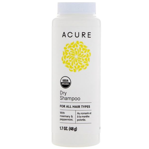 Acure, Organic Dry Shampoo, 1.7 oz (48 g)