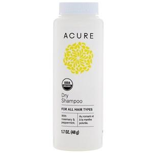 Acure Organics, Органический сухой шампунь, 1.7 унц. (48 г) купить на iHerb