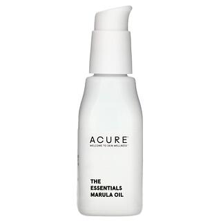 Acure, The Essentials Marula Oil, 1 fl oz (30 ml)