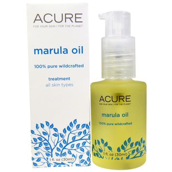 Acure Organics, The Essentials, Marula Oil, 1 fl oz (30 ml)