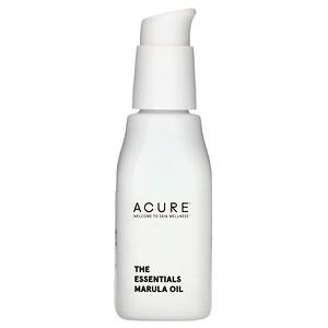 Акьюр Органикс, The Essentials Marula Oil, 1 fl oz (30 ml) отзывы