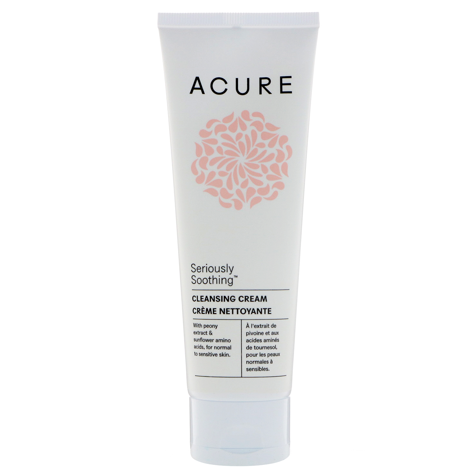 Acure, Seriously Soothing, Cleansing Cream, 4 Fl Oz (118