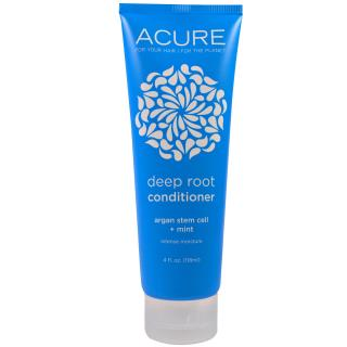 Acure Organics, Deep Root Conditioner, Argan Stem Cell + Mint, 4 fl oz (118 ml)
