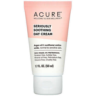 Acure Seriously Soothing Day Cream, 1.7 fl oz (50 ml)