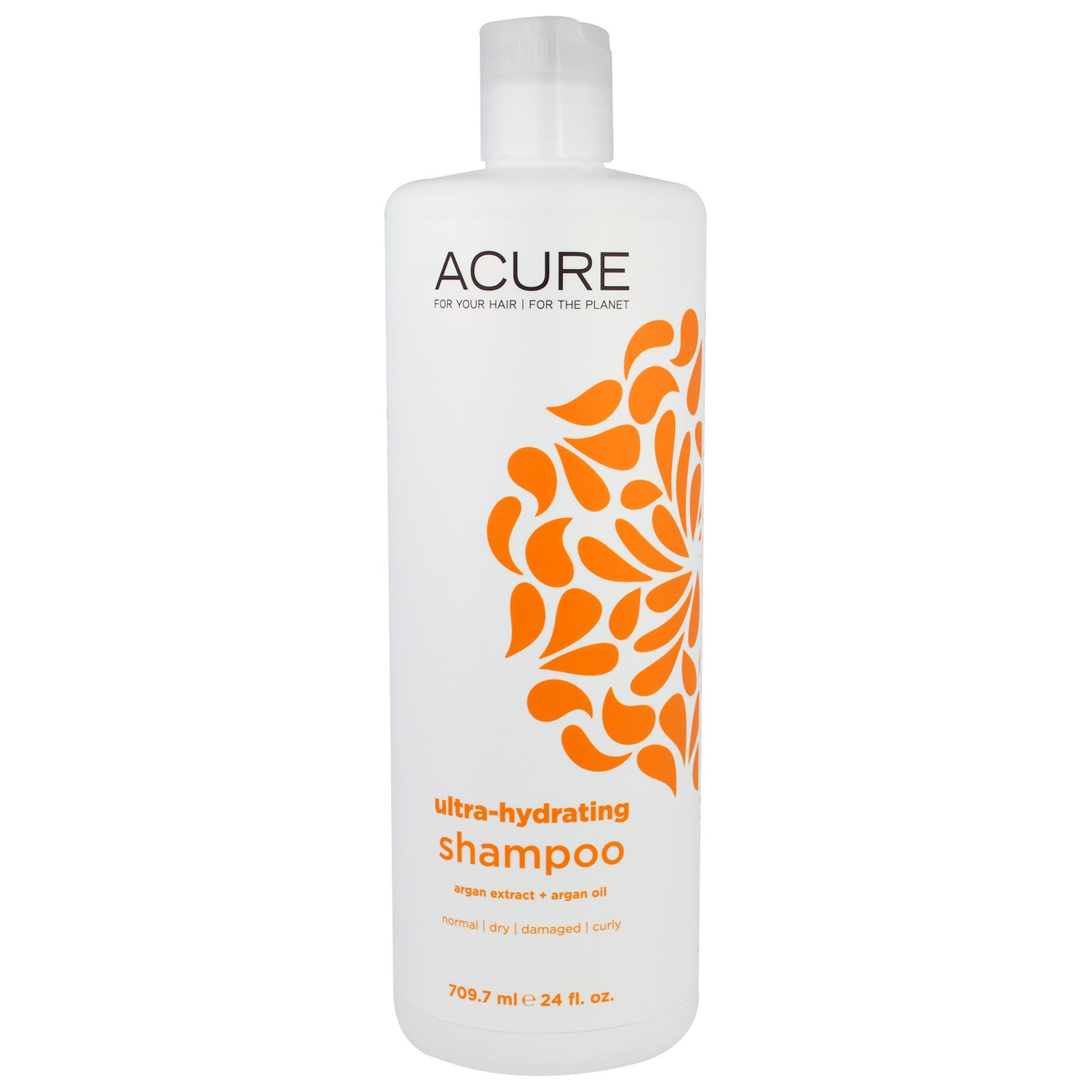 Acure, Shampoo, Ultra-Hydrating, Argan Extract + Argan Oil