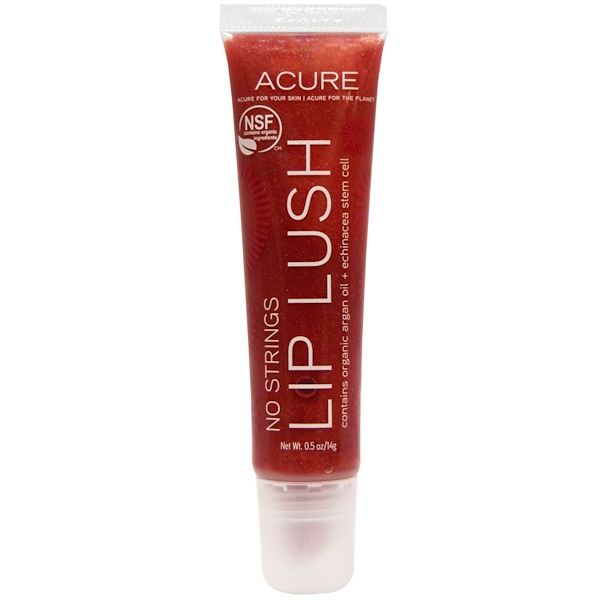 Acure, Lip Lush, No Strings, 0.5 oz (14 g) (Discontinued Item)