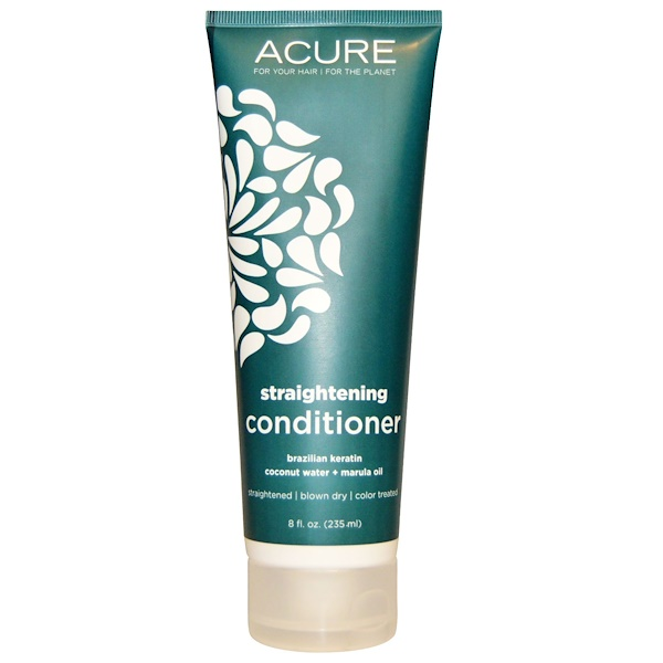 Acure, Straightening Conditioner, Brazilian Keratin