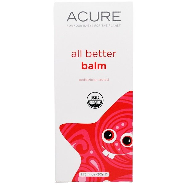 Acure, All Better Balm, 1.75 fl oz (50 ml) (Discontinued Item)