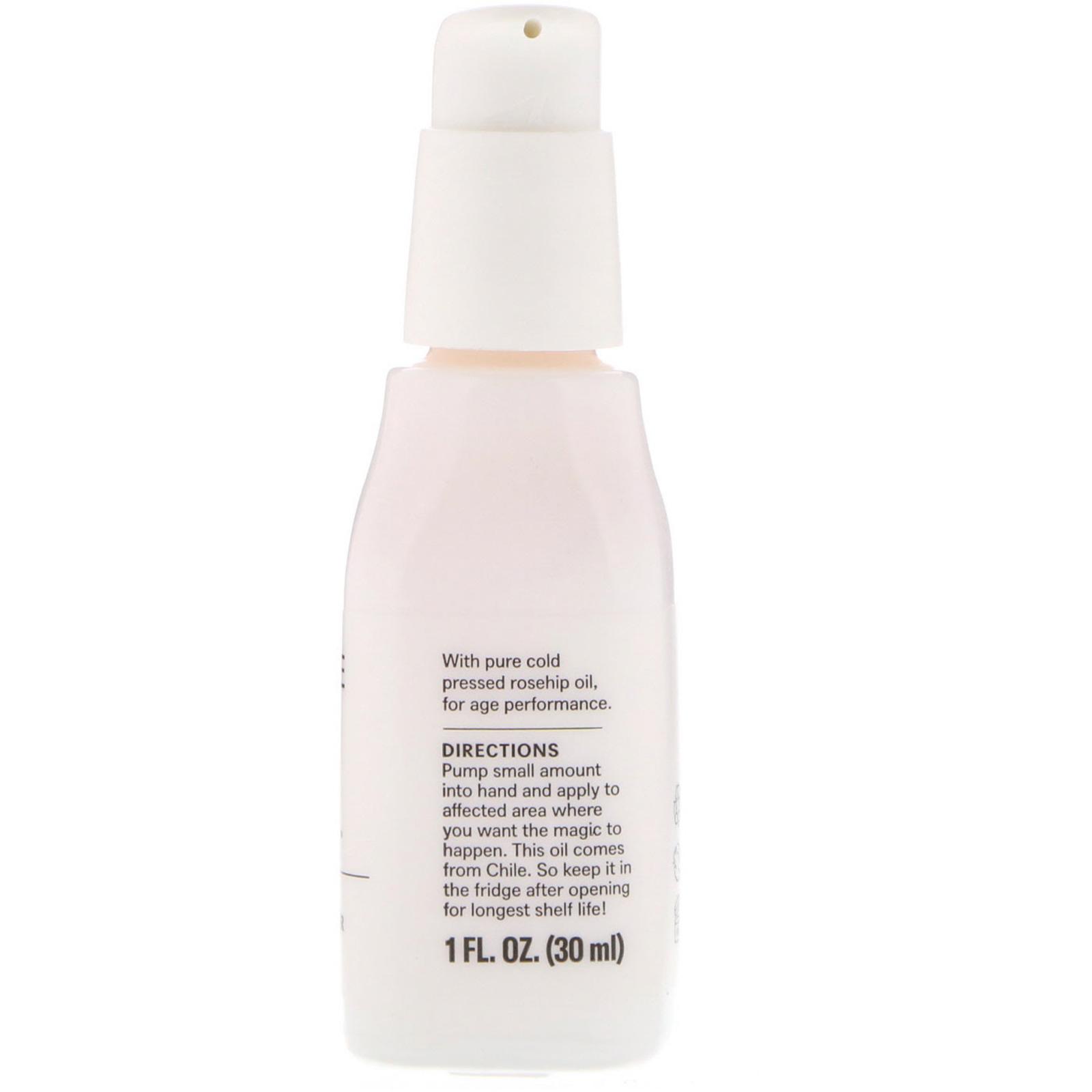 Acure, The Essentials, Rosehip Oil, 1 Fl Oz (30 Ml