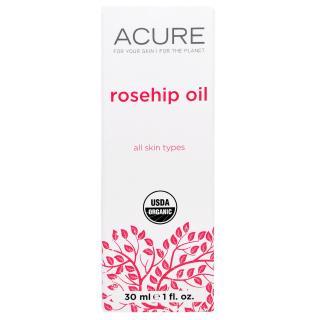 Acure Organics, Organic Rosehip Oil, 1 fl oz (30 ml)