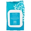 Acure Organics, Brilliantly Brightening, Coconut Cleansing Towelettes , 30 Towelettes