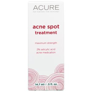 Acure Organics, Incredibly Clear, Acne Spot, .5 fl oz (14.7 ml) купить на iHerb