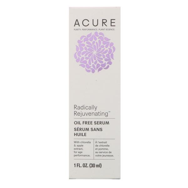 Acure, Сыворотка CGF без масла, 1 жидкая унция (30 мл) (Discontinued Item)