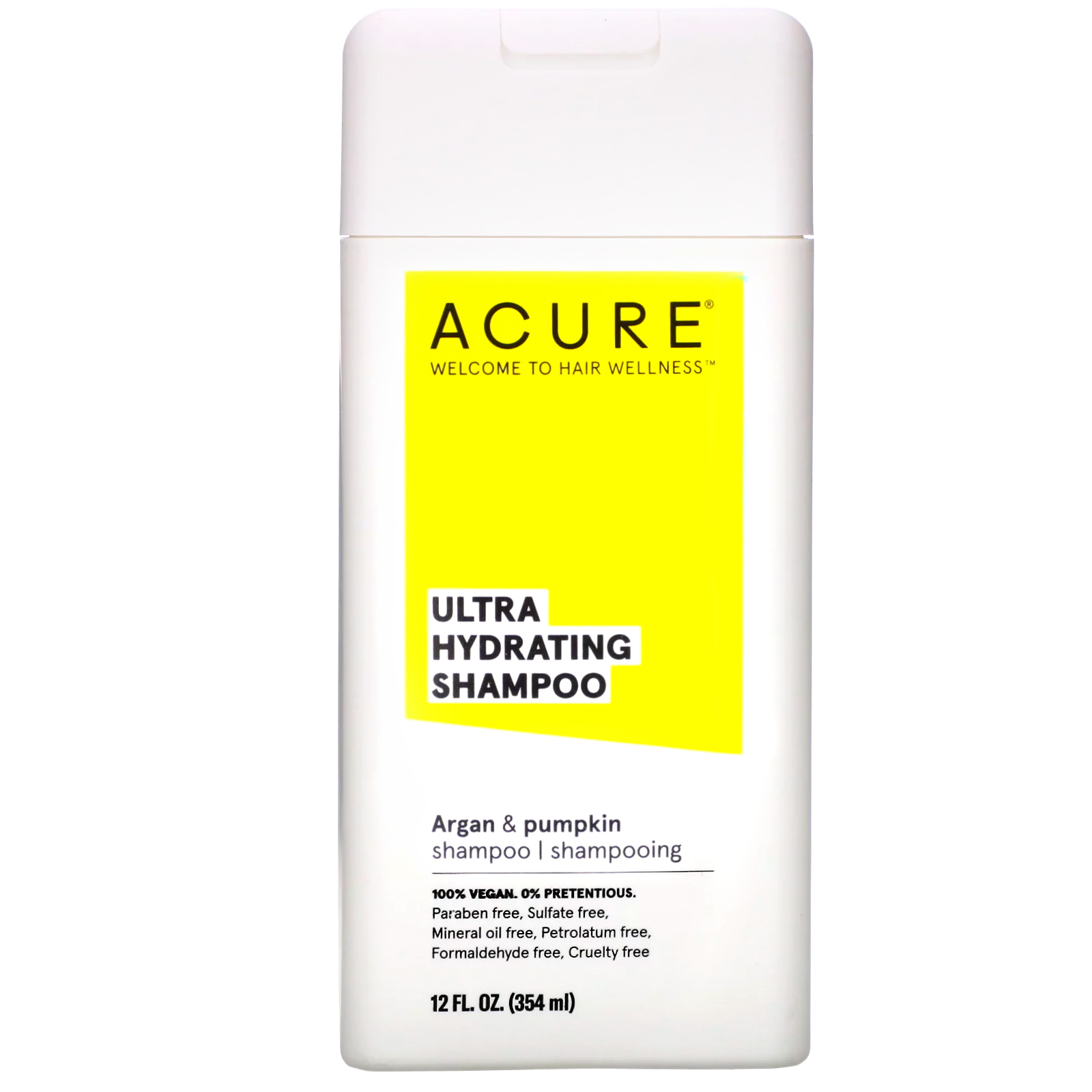 Acure, Ultra Hydrating Shampoo, Argan Oil & Pumpkin, 12 Fl