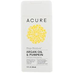 Acure, Mega Moisture Shampoo, Argan Oil & Pumpkin, 12 fl oz (354 ml)