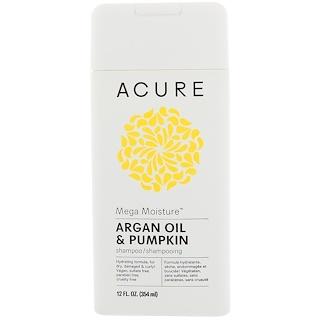 Acure Organics, Mega Moisture Shampoo, Argan Oil & Pumpkin, 12 fl oz (354 ml)