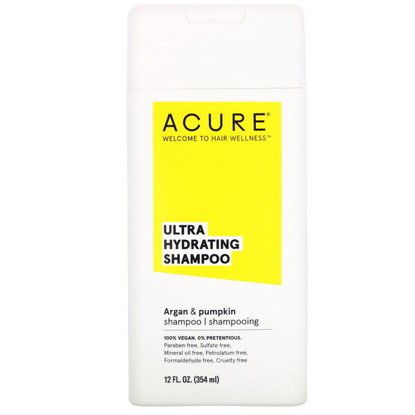 Ultra Hydrating Shampoo, Argan Oil & Pumpkin, 12 fl oz (354 ml)