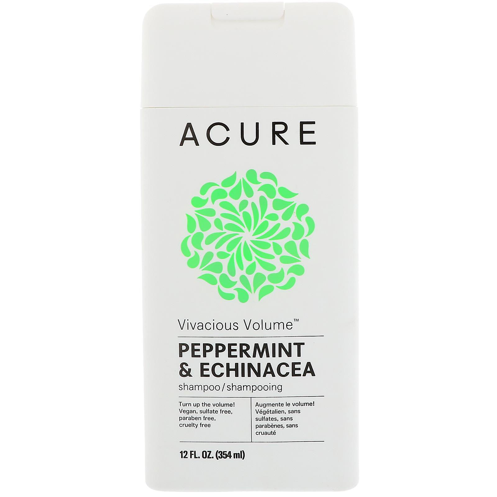 Acure, Vivacious Volume Shampoo, Peppermint & Echinacea