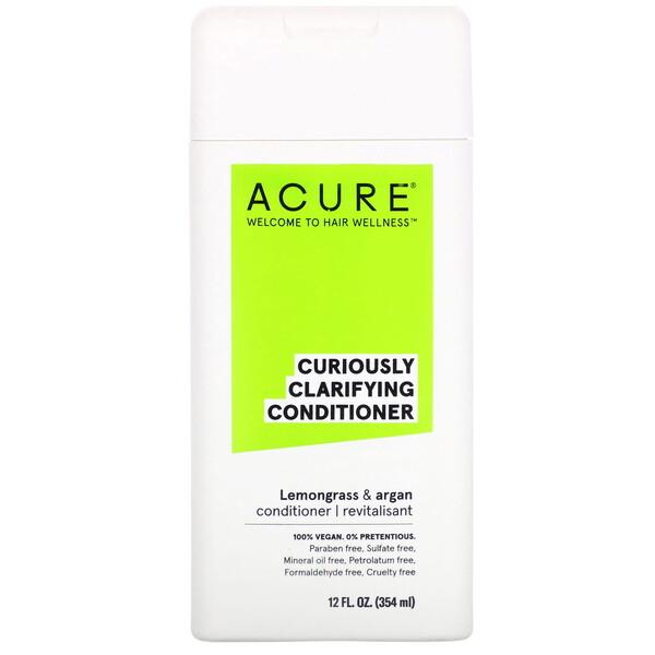 Curiously Clarifying Conditioner, Lemongrass & Argan, 12 fl oz (354 ml)